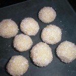 Bolitas de almendra y coco